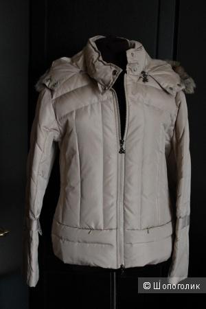Куртка Пуховик Бежевая Италия