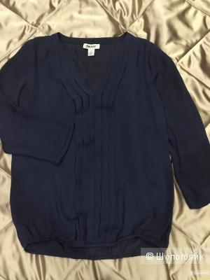 Темно-синяя блузка DKNY/XS