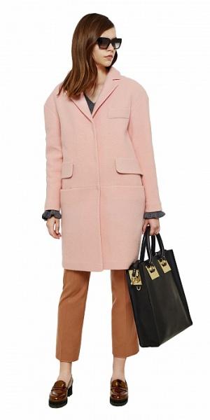 Утепленное пальто I AM STUDIO (100% шерсть, размер S)