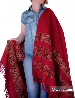 Новый женский палантин-шарф из 100% шерсти