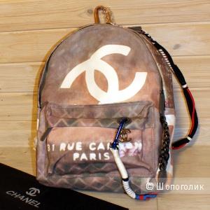 Рюкзак Chanel Graffiti Coffie