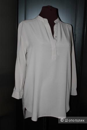 Рубашка Блуза Бежевая Uniqlo