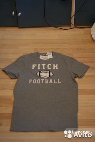 Мужская футболка Abercrombie & Fitch. Размер 46−48(M).
