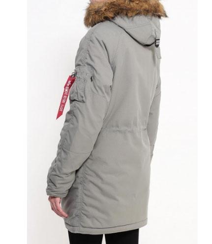 Новая зимняя куртка Alpha Industries, на высокую девушку, размер S