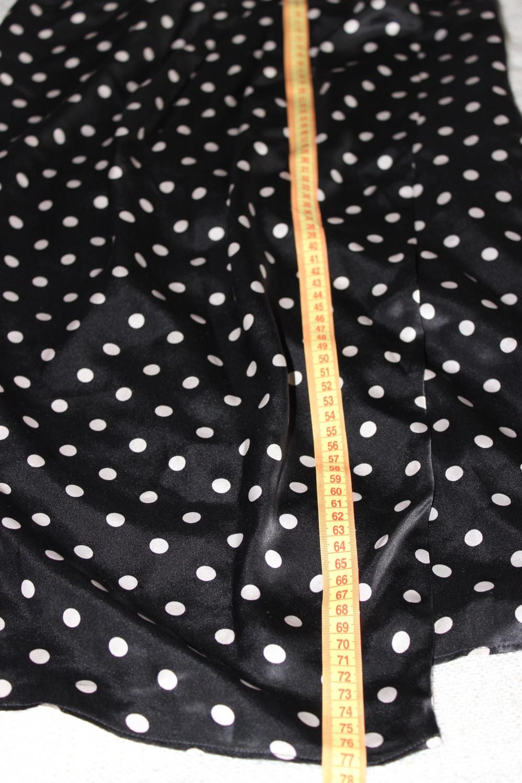 Платье из натрального шелка LIU •JO, Италия, размер производителя 46. ( 46-48 Rus), в горошек