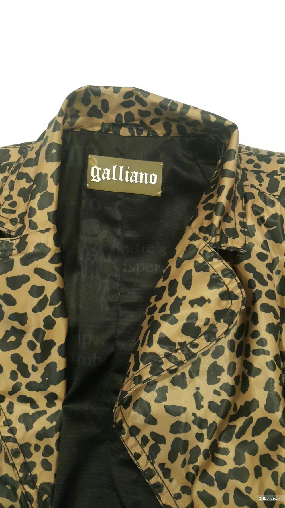 Плащ Galliano