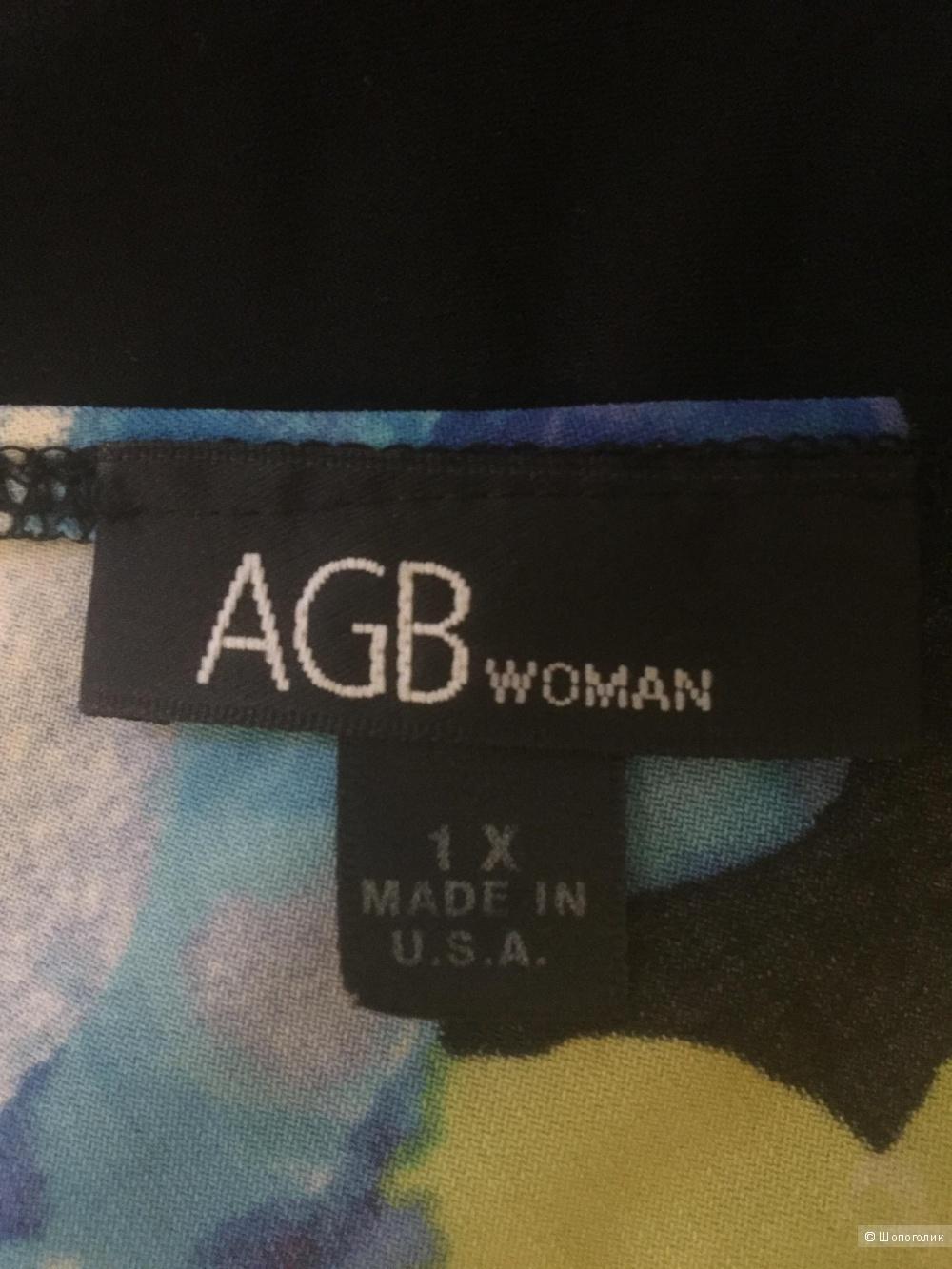 Летнее платье-сарафан AGB woman 1X US