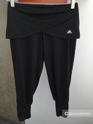 Бриджи капри спортивные для йоги Adidas Climalite