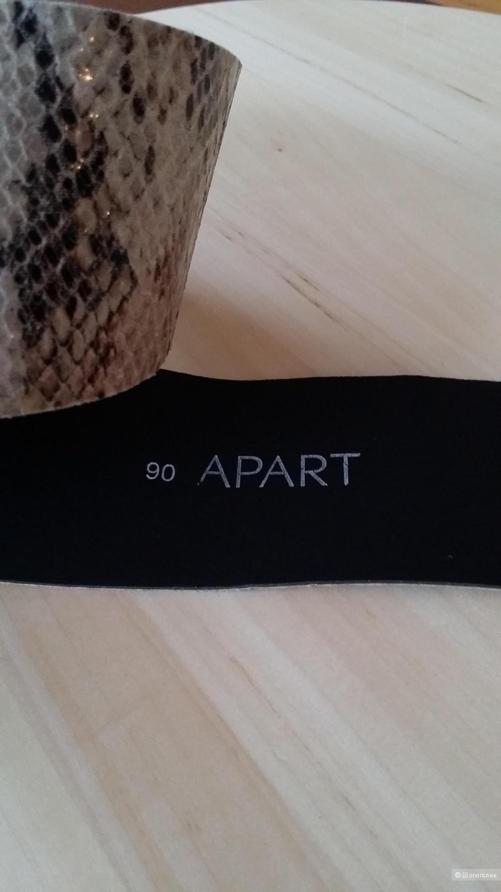 Ремень  APART имитация змеиной кожи  90 см