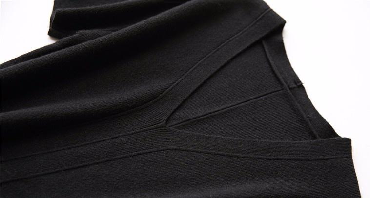 Платье из смеси хлопка и шерсти
