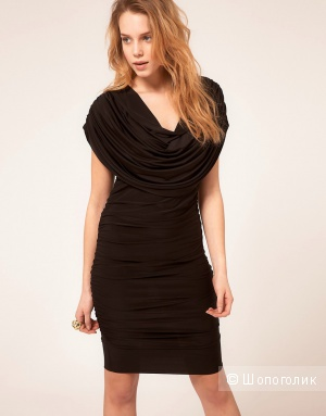 Платье Honor Gold Drape Dress - Black / XS (42-44)