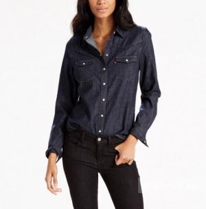 Джинсовая рубашка Levi's, размер M