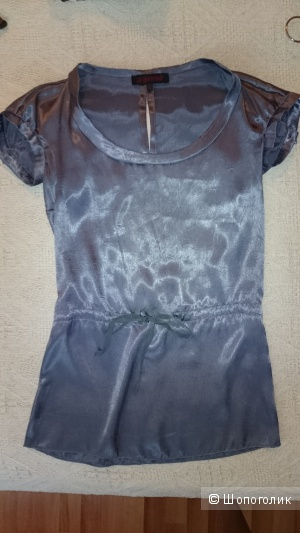 Блузка La Marmelade жемчужно-серого цвета