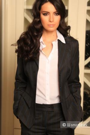 Стильный приталенный пиджак Лаура от Parolle от дизайнера Victoria Andreyanova размер 46