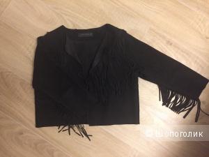Замшевая куртка Zara Размер S