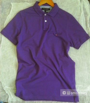 Tommy  Hilfiger  удлиненная рубашка-поло S 46 пог 49