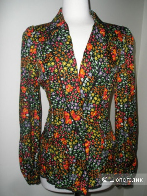 Оригинал. Новая Блуза Dolce Gabbana. Шелк