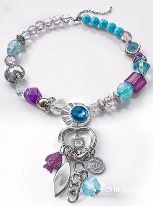 Изумительно красивое ожерелье Wenz с оригинальными деталями  (Германия)