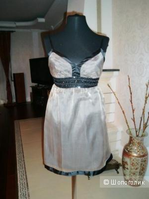 Шелковое Платье на бретелях Новое Nanette Lepore