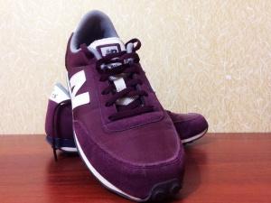 Оригинальные бордовые кроссовки New Balance 410