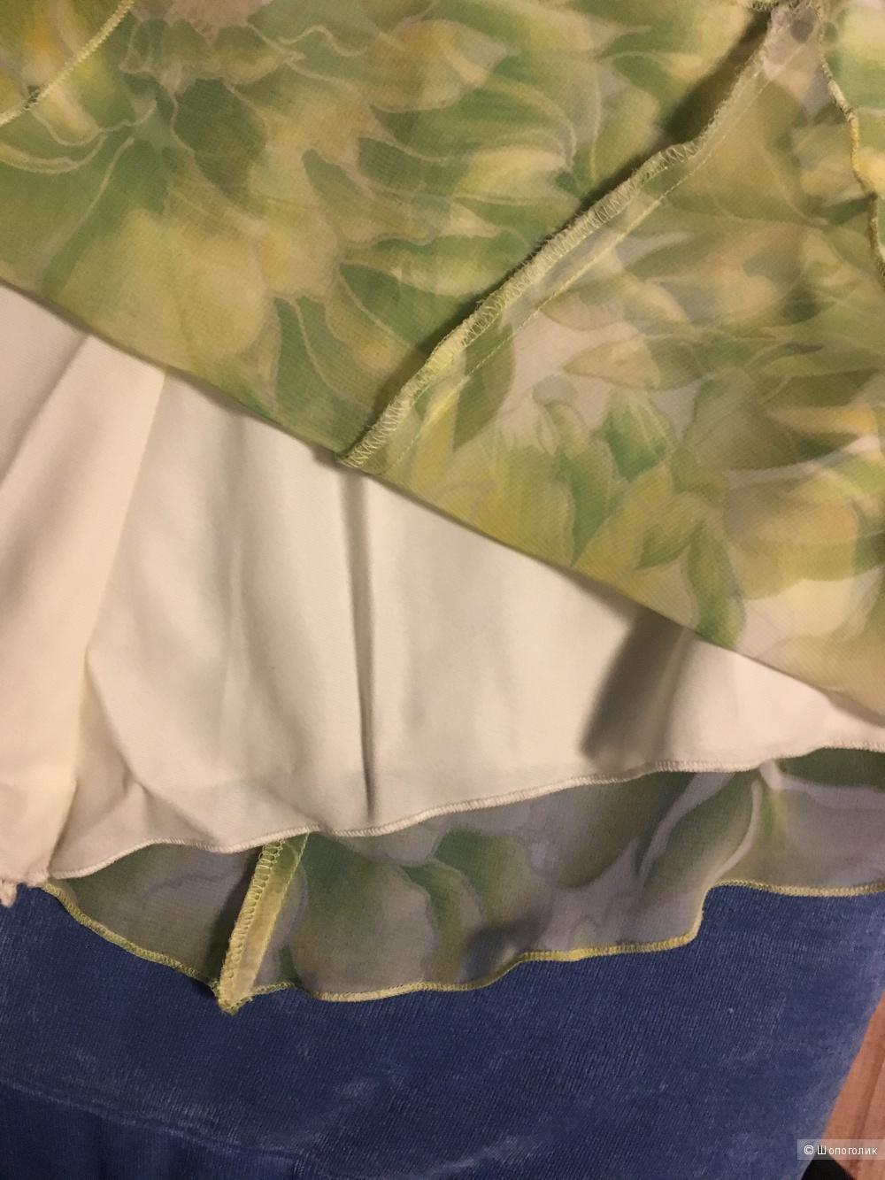 Легкое летнее платье из каталога Отто, размер 34 нем, наш 40-42