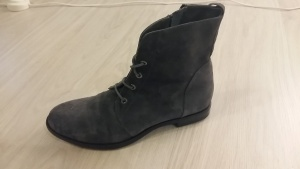Замшевые осенние ботинки MarcoBarbarello