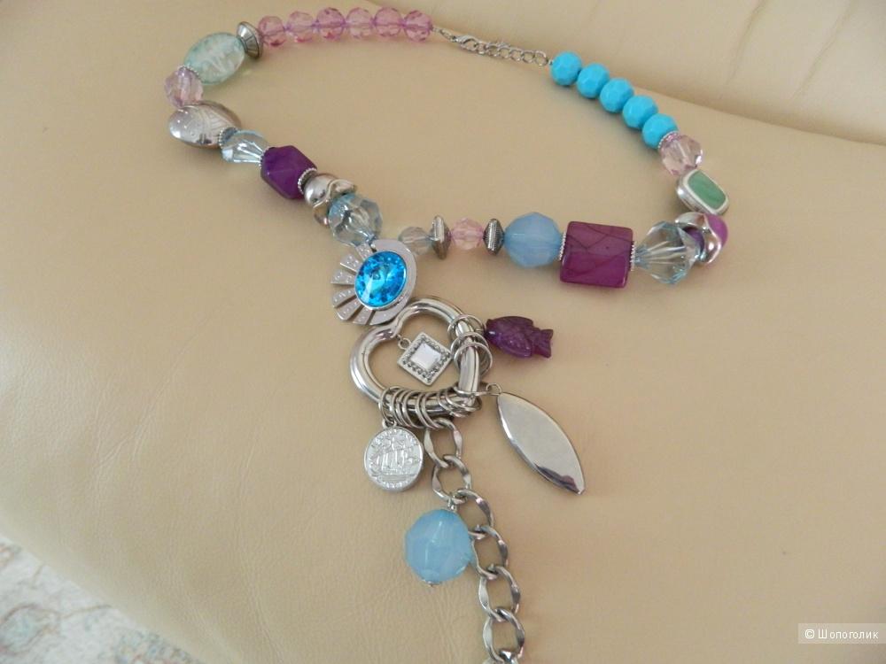 Ожерелье Wenz с оригинальными деталями  (Германия)