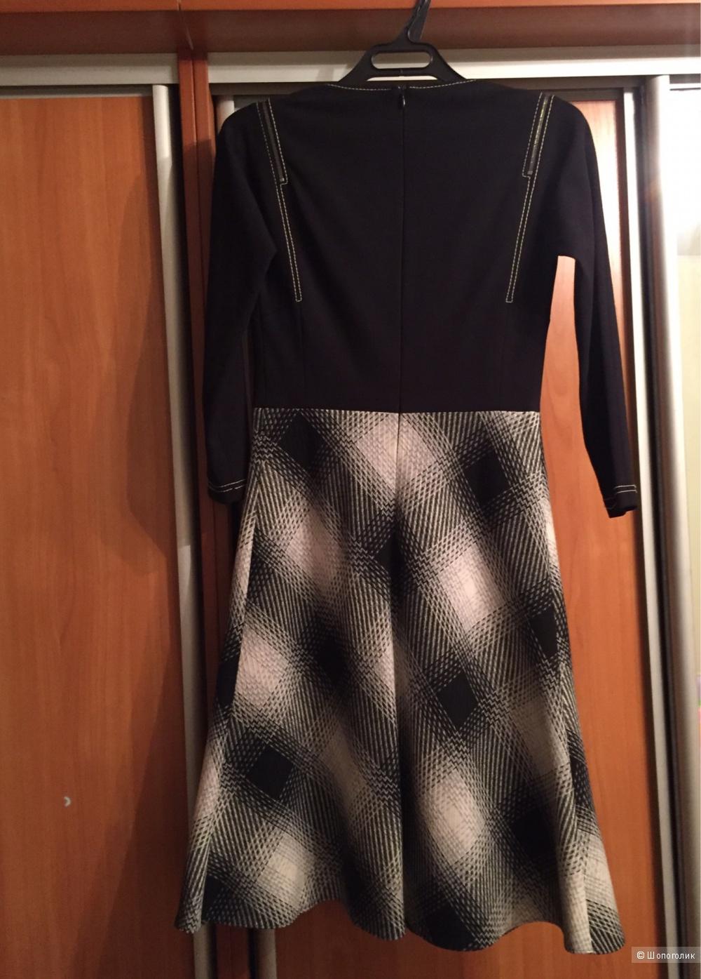 Элегантное платье Caterina Leman оригинал б/у 34 (на 42-44)