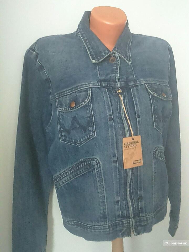 4a6a56bb407 Джинсовая женская куртка Wrangler размер I