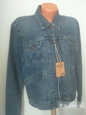 Джинсовая женская куртка Wrangler размер I