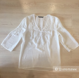 Белая блуза Victorias's secret