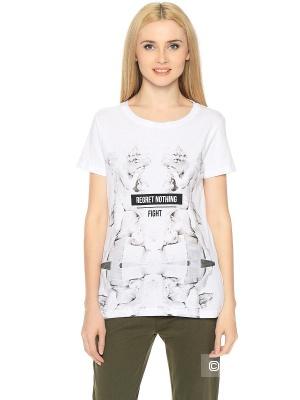 Noir Luxury by HOUSE белая футболка с ангелочками, М