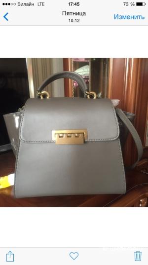 Новая сумка Zac Posen