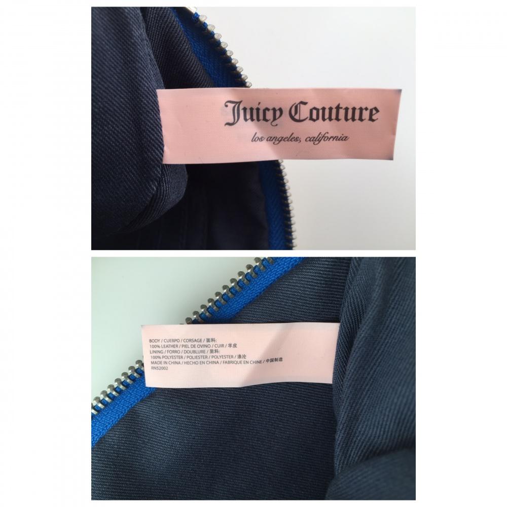 Сумка клатч Juicy Couture натуральная кожа оригинал