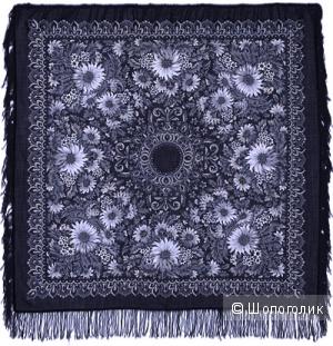 Павловопосадский платок Подсолнухи