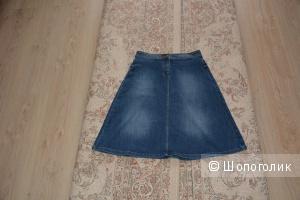 Юбка джинсовая M@S размер UK8. EUR 36