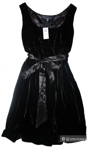 Оригинал. Новое платье из бархата GAP 44-46р.