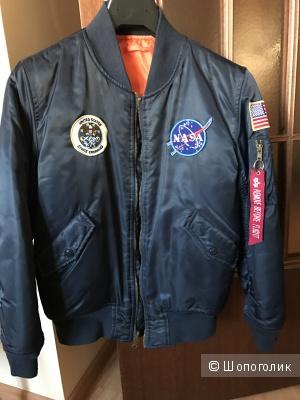 Куртка - бомбер NASA д/м 10-11 лет