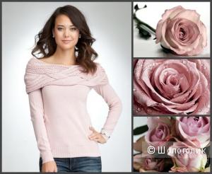 Свитер Bebe цвета пыльной розы