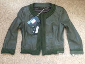 Кожаный пиджак ANNARITA N