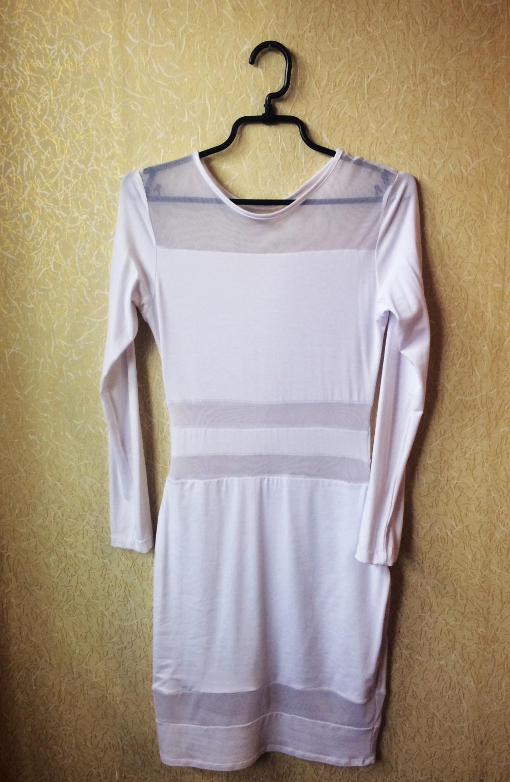 Новое белое обтягивающее платье ASOS