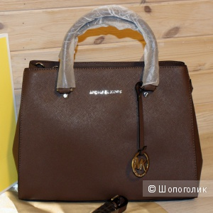 СУМКА MICHAEL KORS SAVANNAH M COFFEE