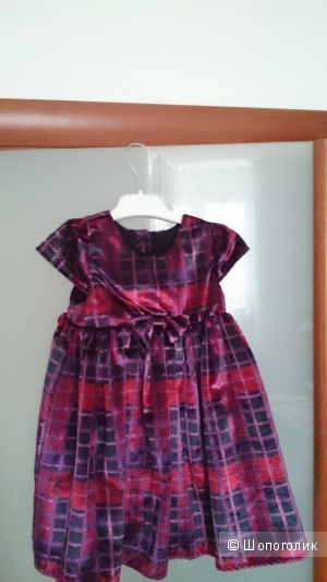 Детское платье Mothercsre, 12-18 мес. до 86 см, мультицвет