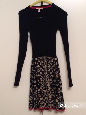 Трикотаж вязаное платье от Victoria's Secret xs бу