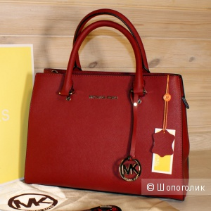 СУМКА MICHAEL KORS SAVANNAH M RED