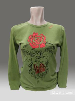 Новая. Guess футболка зеленая.