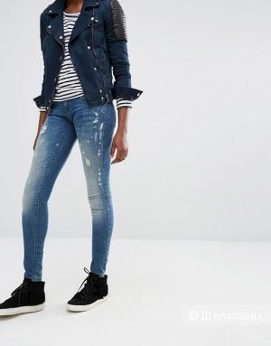 Новые  тёмно-синие джинсы скинни Only Coral от Only (28/32)