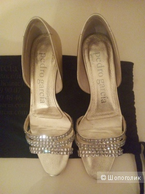 Шикарные туфли Pedro Garcia ( Swarovski), оригинал