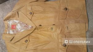 Кожаный жакет\куртка  S.Oliver 42-44.Новый