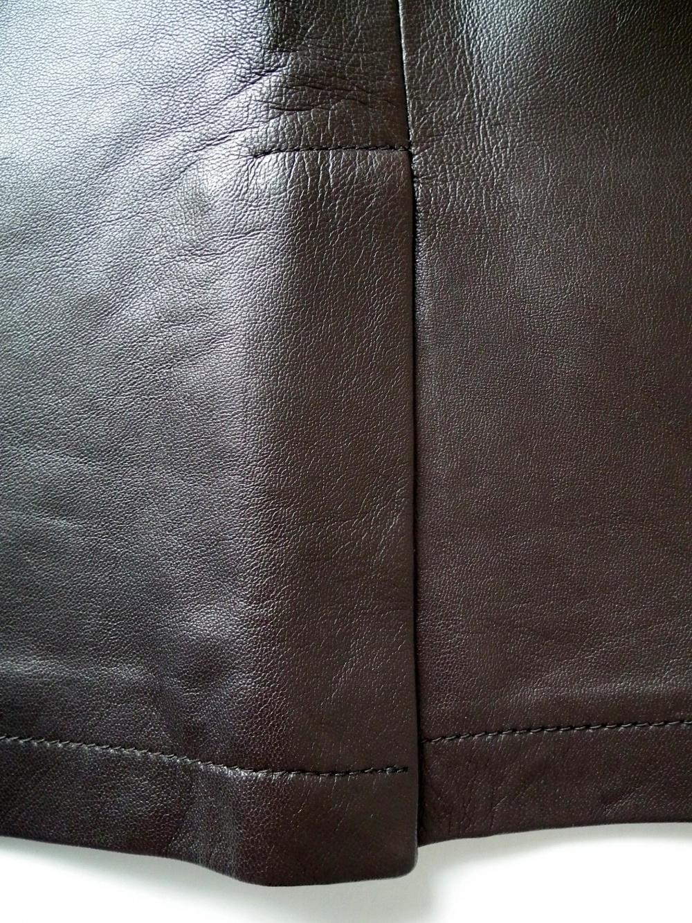Юбка из натуральной кожи US4